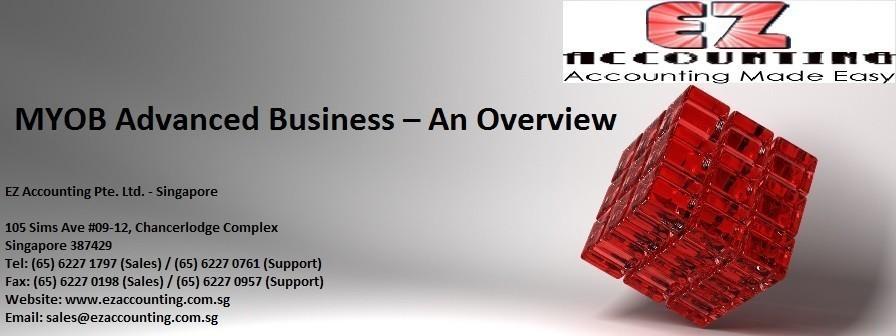 MYOB Advanced Business - an Overview 896 x 336