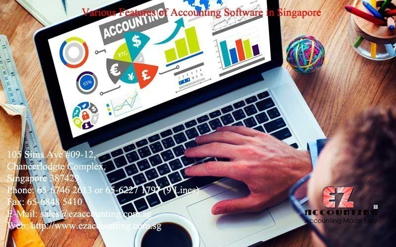 Various Features of Accounting Software in Singapore