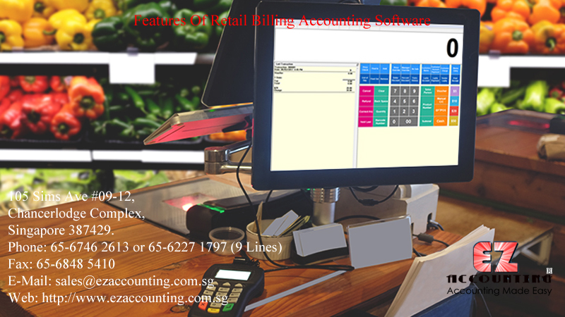 Features Of Retail Billing Accounting Software