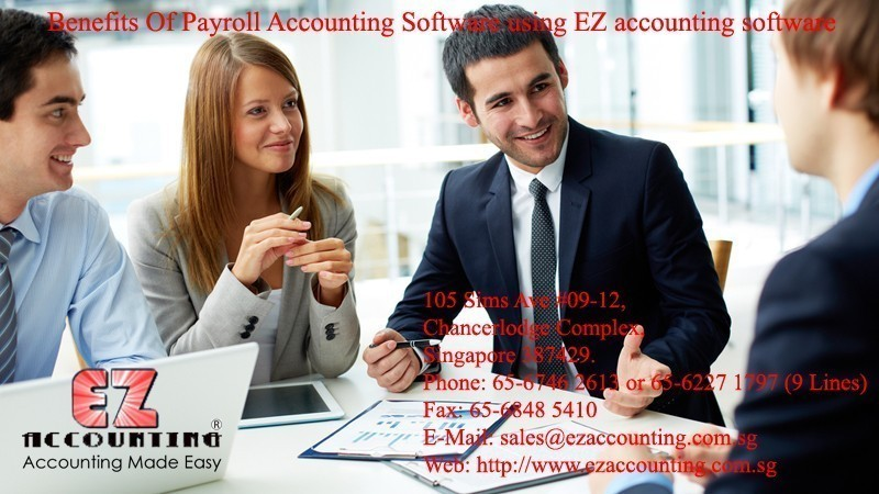 Benefits Of Payroll Accounting Software using EZ accounting software
