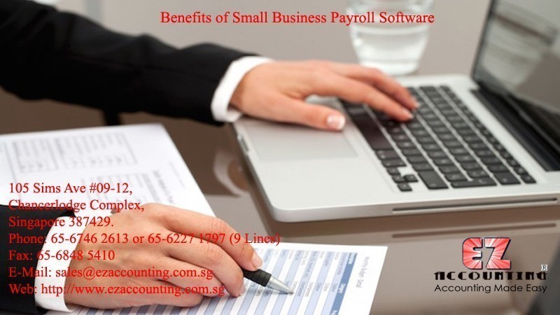 Benefits of Small Business Payroll Software