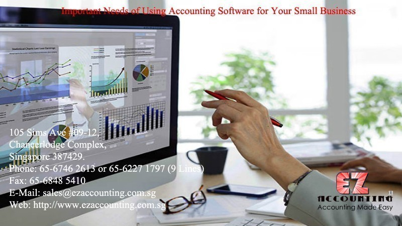 Important Needs of Using   Accounting Software for Your Small Business