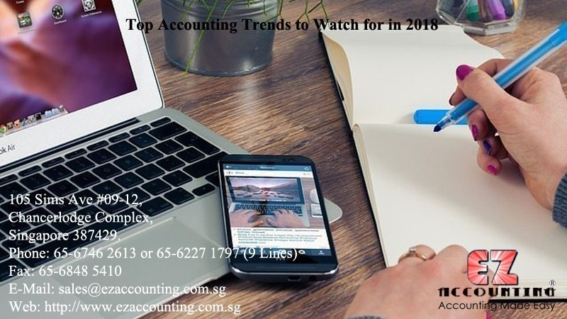 Top Accounting Trends to Watch for in 2018
