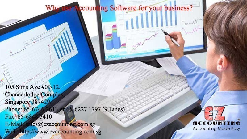 Why use Accounting Software for your business