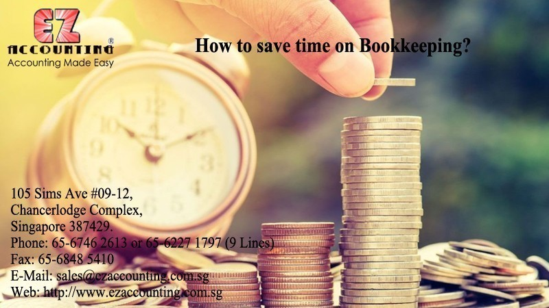 How to save time on Bookkeeping