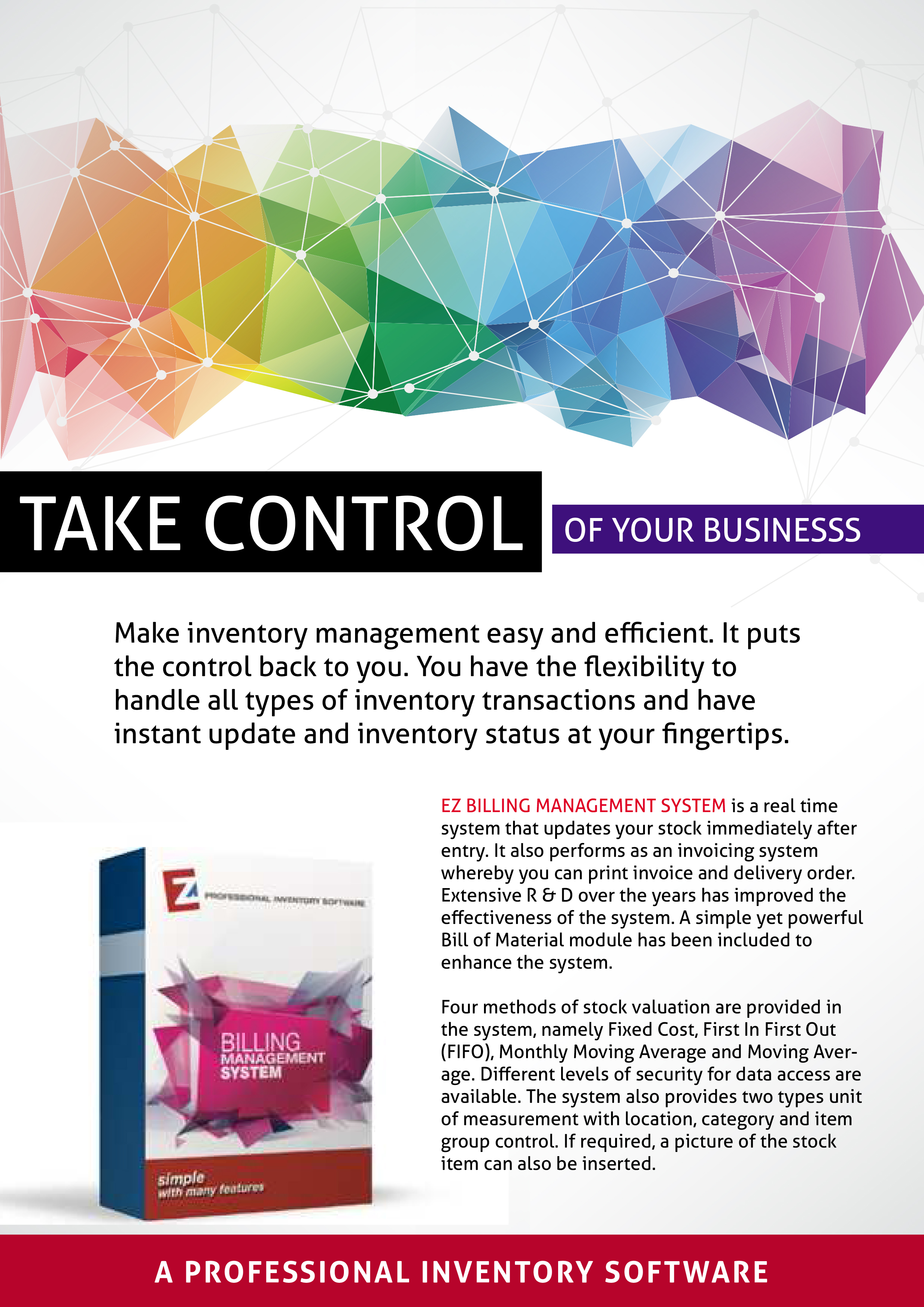 EZ Inventory Software