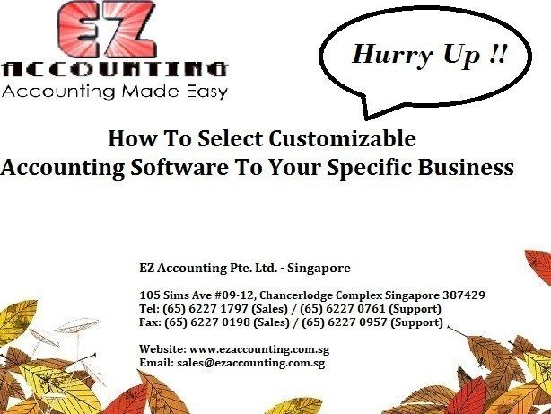 How To Select Customizable Accounting Software To Your Specific Business 614 x 461