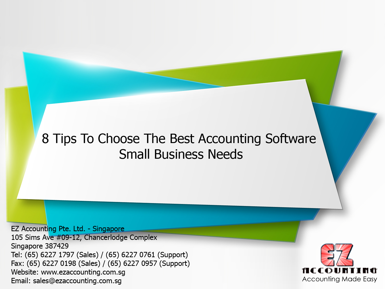 8 Tips to Choose the Best Accounting Software – Small Business Needs 1600x1200
