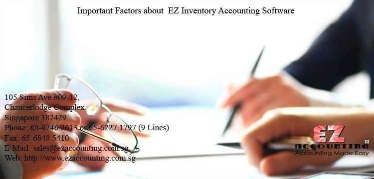 Important Factors about EZ Inventory Accounting Software
