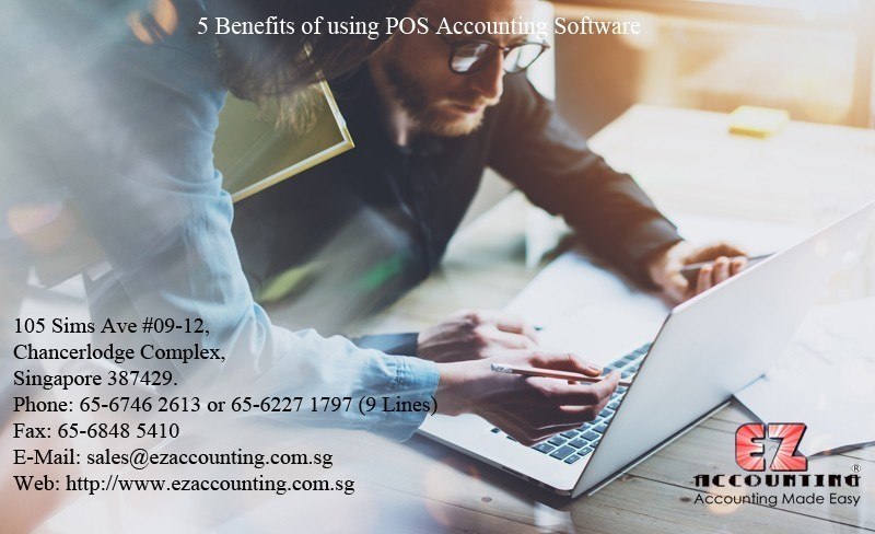 5 Benefits of using POS Accounting Software