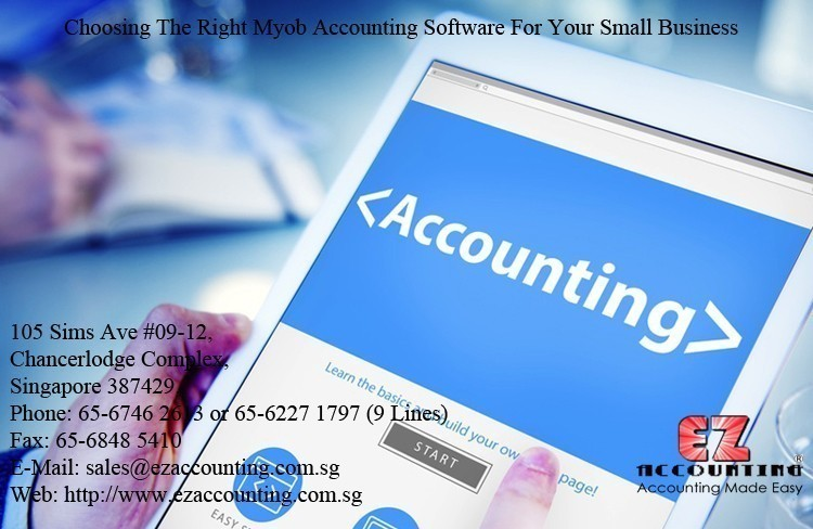 Choosing The Right Myob Accounting Software For Your Small Business