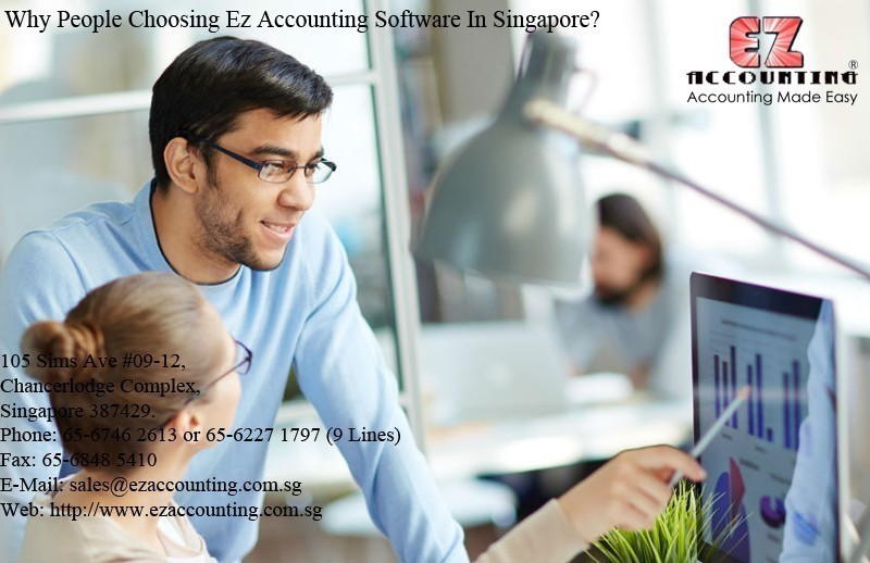 Why People Choosing Ez Accounting Software In Singapore