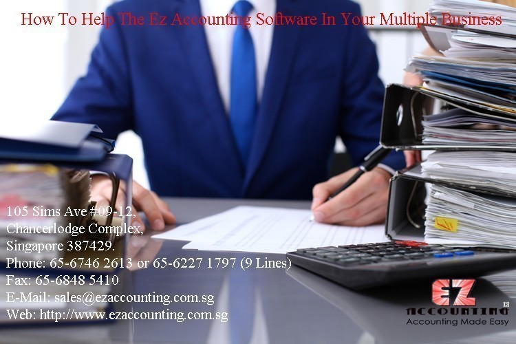 How To Help The Ez Accounting Software In Your Multiple Business