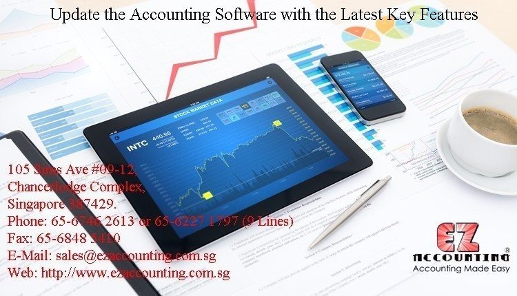 Update the Accounting Software with the Latest Key Features
