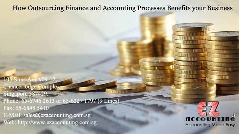 How Outsourcing Finance and Accounting Processes Benefits your Business