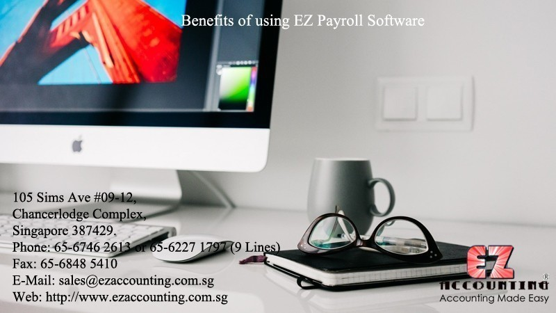 Benefits of using EZ Payroll Software
