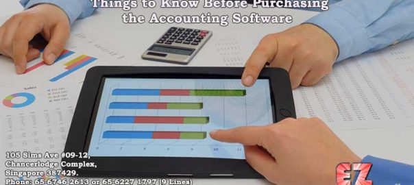Things to Know Before Purchasing the Accounting Software