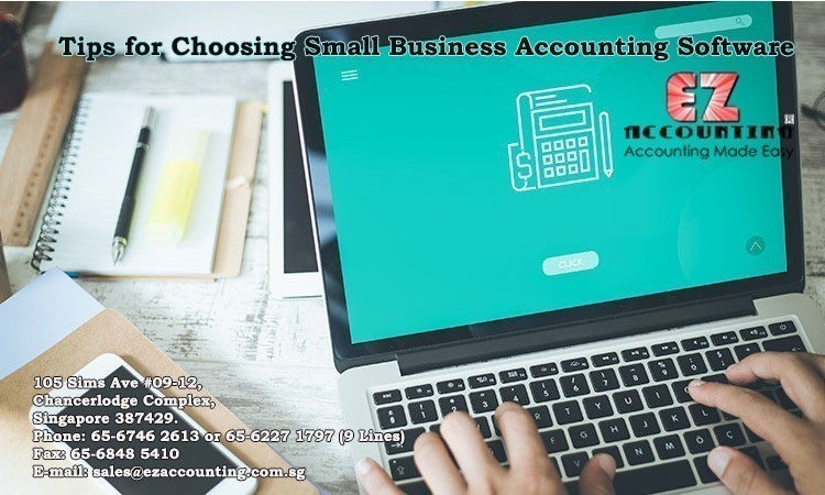 tips for choosing small business accounting software