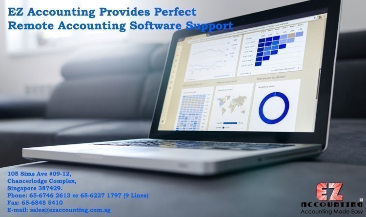EZ Accounting Provides Perfect Remote Accounting Software Support